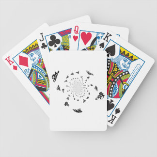 Abstract Bicycle Race Art Bicycle Playing Cards
