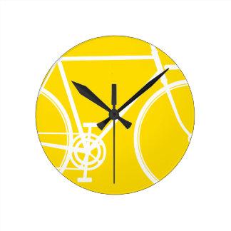 Abstract Bicycle Wall Clock