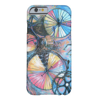 Abstract bicycles barely there iPhone 6 case