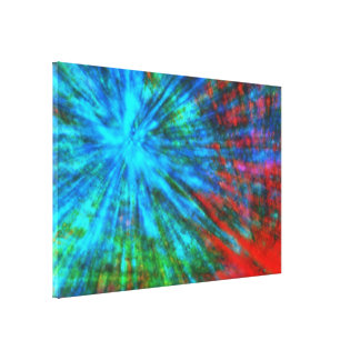 Abstract Big Bangs 001 Canvas Prints