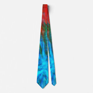 Abstract Big Bangs 001 Multicolored Tie