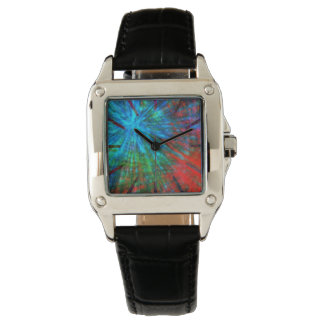 Abstract Big Bangs 001 Multicolored Watch