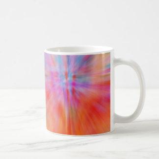 Abstract Big Bangs 002 Multicolored Coffee Mug