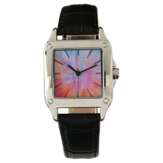 Abstract Big Bangs 002 Multicolored Watch