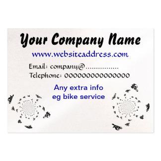 Abstract Bike Art Business Card Template