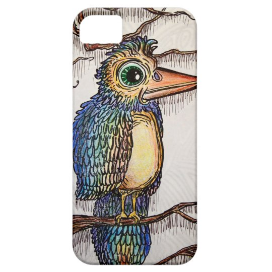 Abstract Bird iPhone 5 Cover