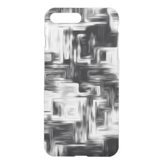 Abstract black and white iPhone 8 plus/7 plus case