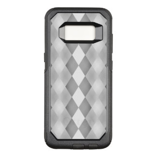 Abstract Black and White Square Pattern OtterBox Commuter Samsung Galaxy S8 Case