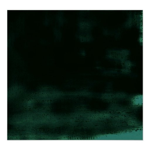 Abstract Black Dreamy Print