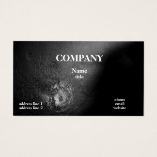 Abstract Black Grey Business Cards