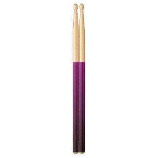 Abstract black&purple drumsticks