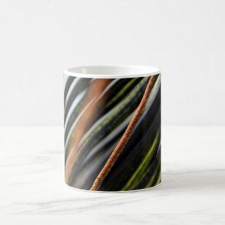 abstract black red and green urban photograph coffee mug