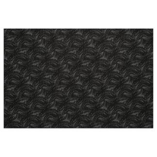 Abstract Black Swirl Pattern