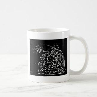 Abstract Black/White Design #1 Basic White Mug