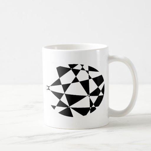 Abstract Black & White Mug