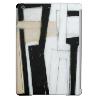 Abstract Black & White Painting