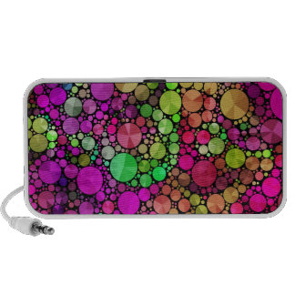 Abstract Bling Travel Speakers