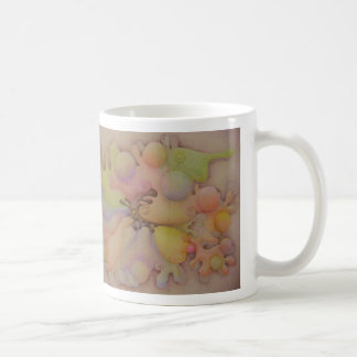 Abstract Blobs Basic White Mug
