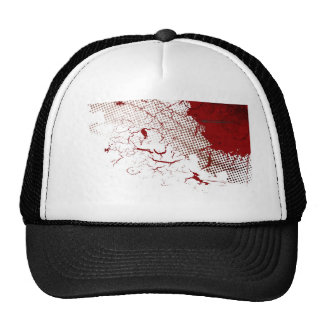 abstract blood cap