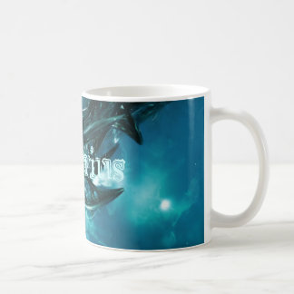 Abstract-Blue Aquarius Coffee Mug