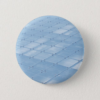 Abstract blue background 6 cm round badge