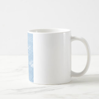 Abstract blue background coffee mug