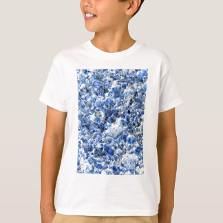 Abstract blue background design T-Shirt