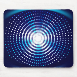 Abstract blue background mouse mat
