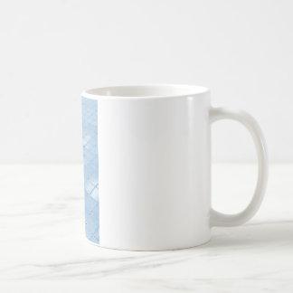Abstract blue background mug