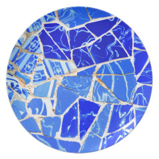 Abstract blue background plate