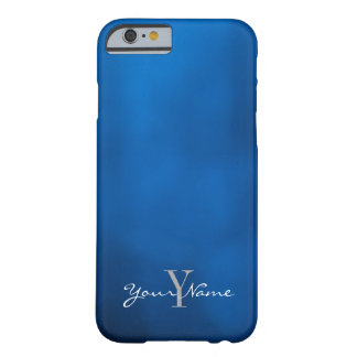 Abstract Blue Barely There iPhone 6 Case
