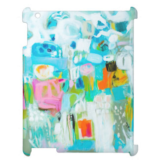 Abstract Blue Cover For The iPad 2 3 4
