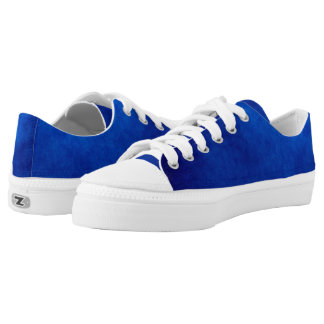 Abstract Blue Custom Low Top Sneakers Shoes