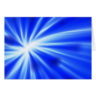 Abstract blue design card