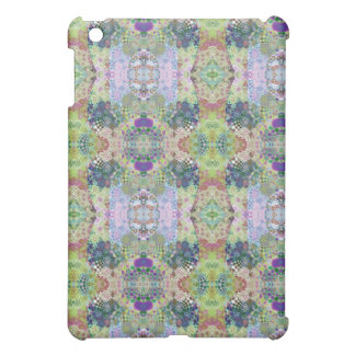 Abstract Blue Fractal Cover For The iPad Mini