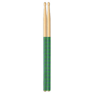 abstract blue&green drumsticks