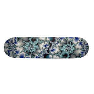 Abstract Blue-green starburst Skateboard Decks