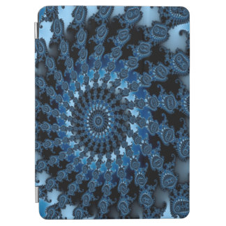 Abstract Blue Ice Pattern iPad Air Cover