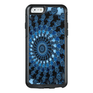 Abstract Blue Ice Pattern OtterBox iPhone 6/6s Case