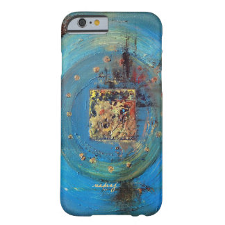 Abstract Blue Ka'aba Art Phone Case Barely There iPhone 6 Case