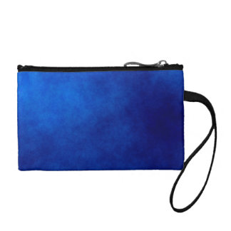 Abstract Blue Key Coin Clutch Coin Purse