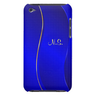 Abstract Blue line Barely There iPod Cover