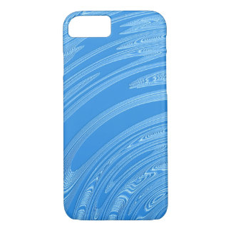 abstract blue metallic texture iPhone 8/7 case