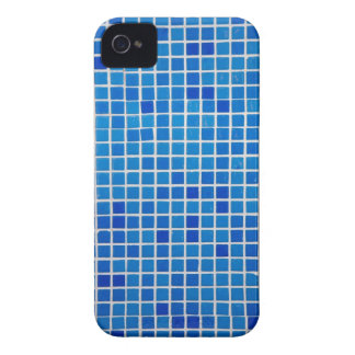 Abstract Blue Mosaic iPhone 4 Case