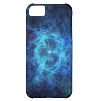Abstract Blue Nebula iPhone 5C Case