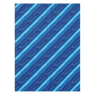 Abstract Blue Sky Tablecloth