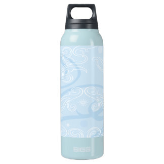abstract blue texture Bottle