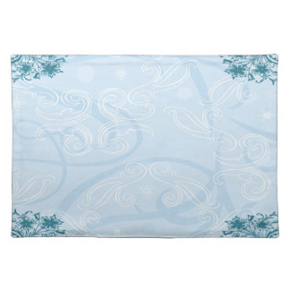 abstract blue texture Placemat
