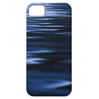 Abstract blue water pattern smartphone cover
