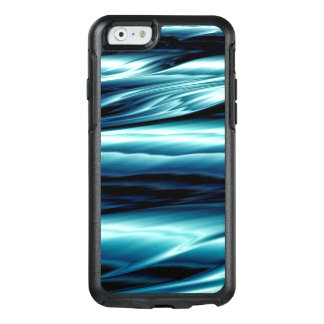 Abstract Blue Water Waves OtterBox iPhone 6/6s Case